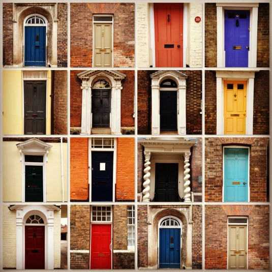 Just a few of the doors I saw on my stroll thru King's Lynn with Ann, a most remarkable lady